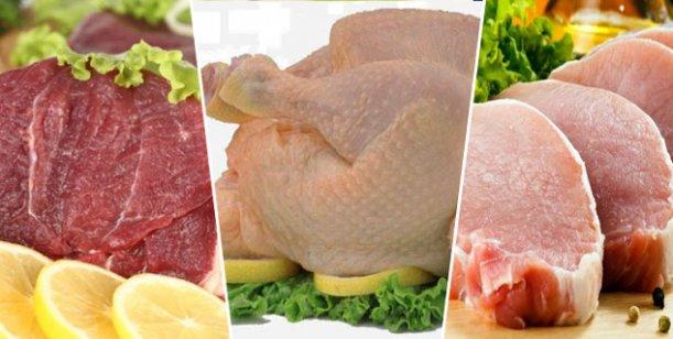 tipos de carne más saludable